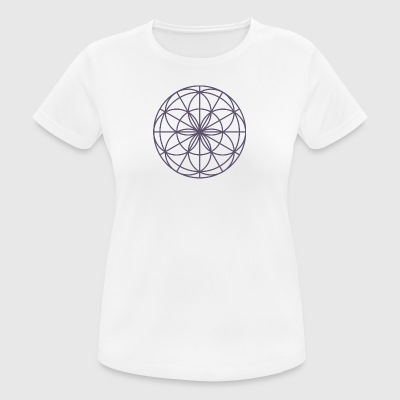 Mandala Spirit light purple - Women's Breathable T-Shirt