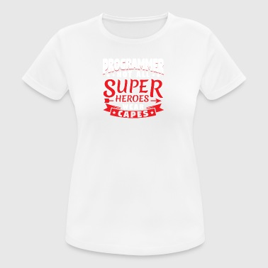 NOT ALL SUPERHEROES WEAR CAPS - PROGRAM - Women's Breathable T-Shirt