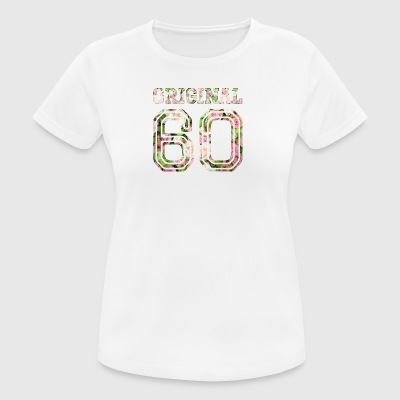 1960-60 años - Camiseta mujer transpirable