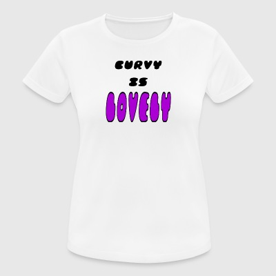 curvy lovly - Women's Breathable T-Shirt