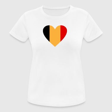 Bélgica - Camiseta mujer transpirable