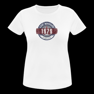 LtdEdition 1979 - Camiseta mujer transpirable