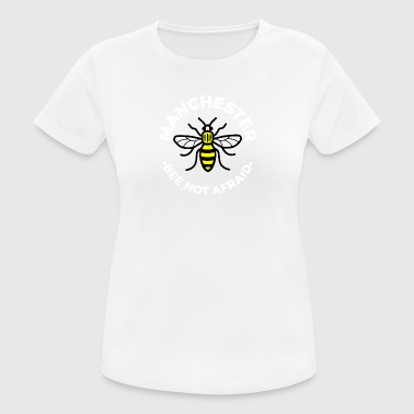Manchester - Bee Not Afraid - Women's Breathable T-Shirt