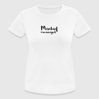 Mischief managed - Women's Breathable T-Shirt