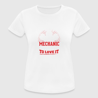 TALENTED mechanic - Women's Breathable T-Shirt