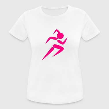 Fitness Girl - Frauen T-Shirt atmungsaktiv