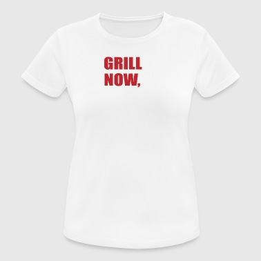 grilling - Women's Breathable T-Shirt