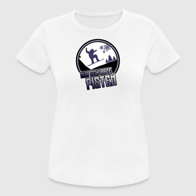 Only black slopes - Women's Breathable T-Shirt