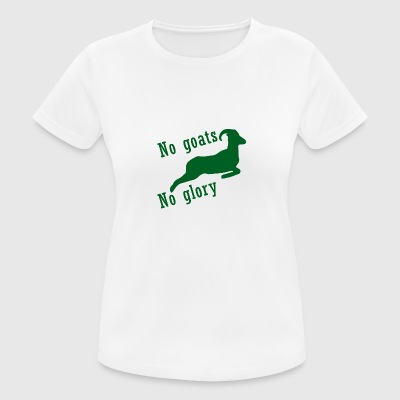 Goat / Farm: No Goats, No Glory - Women's Breathable T-Shirt