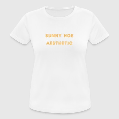 sunny hoe aesthetic - Women's Breathable T-Shirt