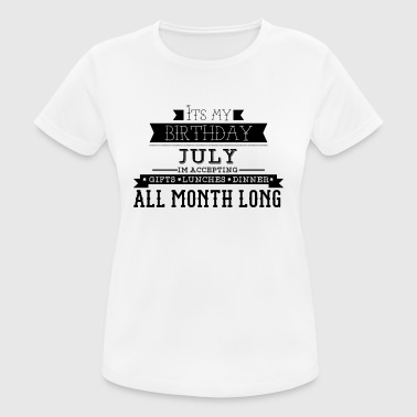 My birthday July - Women's Breathable T-Shirt