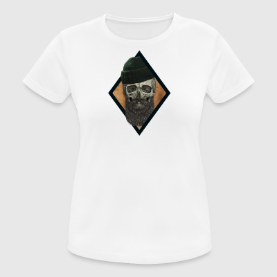 beard skull fisherman - Women's Breathable T-Shirt