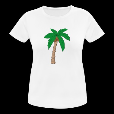 Palm tree - Women's Breathable T-Shirt
