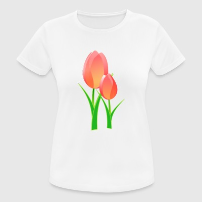 tulips - Women's Breathable T-Shirt