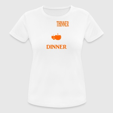 Thanksgiving dinner than i was thinner - Women's Breathable T-Shirt