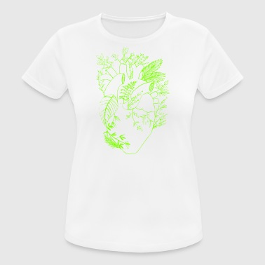 nature heart - Women's Breathable T-Shirt