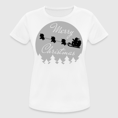 merry christmas unicorns - Women's Breathable T-Shirt