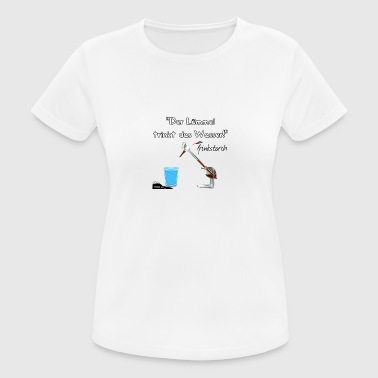 The Lümmel Drinks the water - Women's Breathable T-Shirt