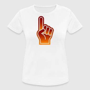 Great Finger At Sporting Events - Women's Breathable T-Shirt