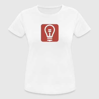 Zurkow Light Bulb Logo - Women's Breathable T-Shirt