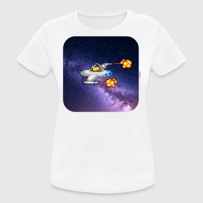 Spaceship - Frauen T-Shirt atmungsaktiv