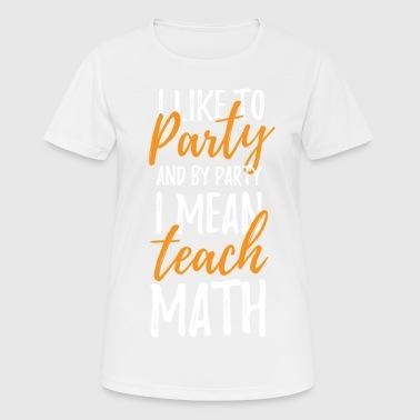 Shop Maths Teacher T-Shirts online | Spreadshirt