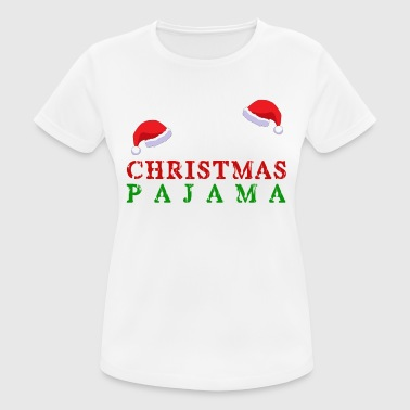 Jul pyjamas - Dame T-shirt svedtransporterende