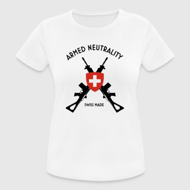 armed neutrality swiss made - Women's Breathable T-Shirt
