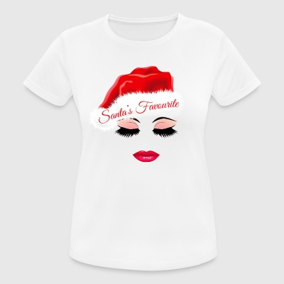 Santa's Favourite. Christmas Gifts. Bestselling - Women's Breathable T-Shirt