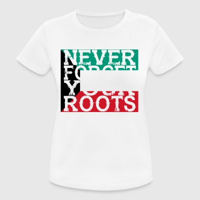 never forget roots home Kuwait - Women's Breathable T-Shirt