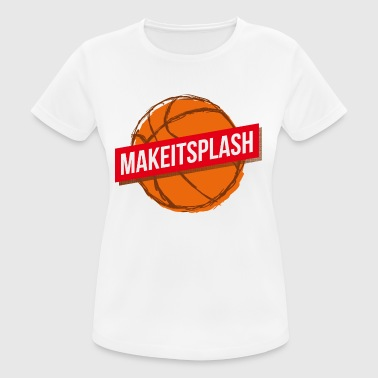 Que sea splash - Camiseta mujer transpirable