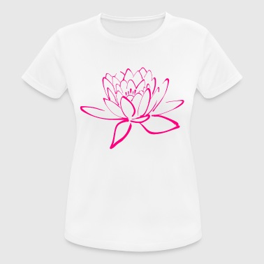 lotus - Women's Breathable T-Shirt