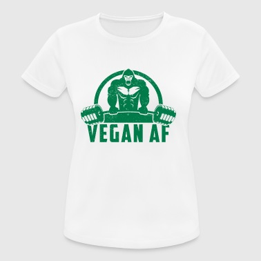 Vegan AF Muscle Gorilla Gift - Women's Breathable T-Shirt