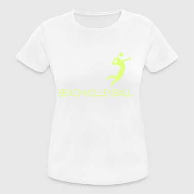 Evolution - Beach volley regalo T-shirt - Maglietta da donna traspirante