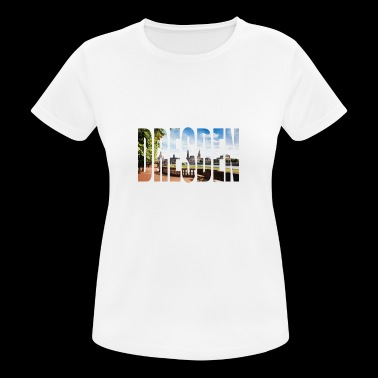 DRESDEN Germany - Women's Breathable T-Shirt