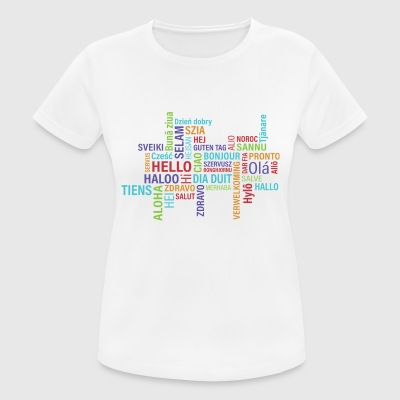 Hello - Women's Breathable T-Shirt