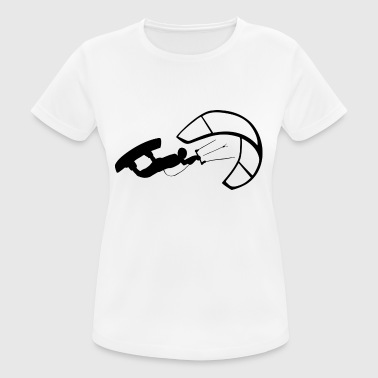 Kite surfing - Women's Breathable T-Shirt