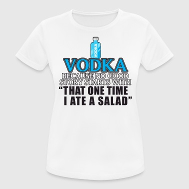 Vodka Alkohol Vodka - Dame T-shirt svedtransporterende