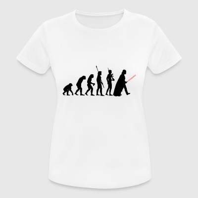 The evolution of the dark power - Women's Breathable T-Shirt