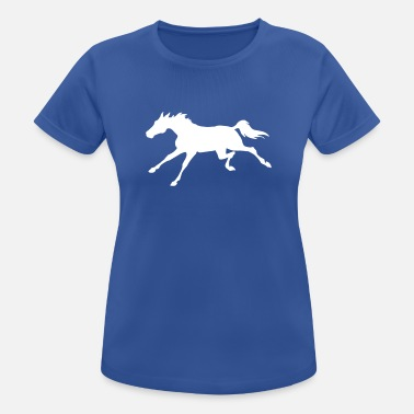 Gallop Galloping Horse - Women's Sport T-Shirt