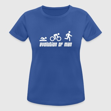 Triathlon Evolution - Frauen T-Shirt atmungsaktiv