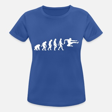 Jackie Chan The Evolution Of Karate - Women's Sport T-Shirt
