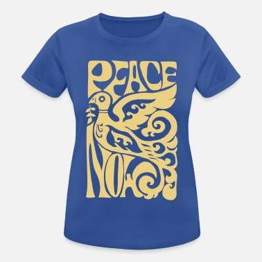 Love Dove Generation Peace Now! World Peace 60s Peace Dove - Women's Breathable T-Shirt