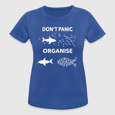 dont panic organise - Women's Breathable T-Shirt
