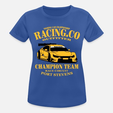 Touring Touring-Car Racing - Camiseta mujer transpirable