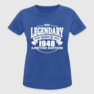 Legendarisk sedan 1948 - Andningsaktiv T-shirt dam