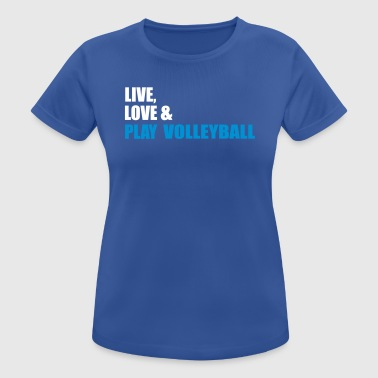 volleyball - Women's Breathable T-Shirt
