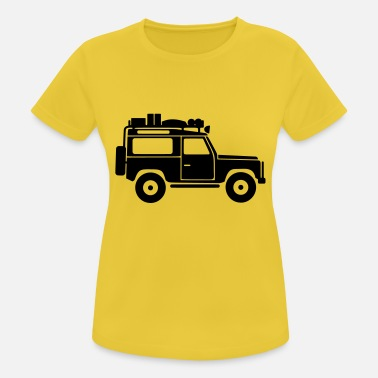 Land Defender D90 Roof Rack - Frauen Sport T-Shirt