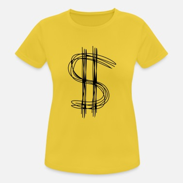 Dollar Sign Dollar sign dollar - Women's Sport T-Shirt