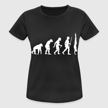 Evolution Handstand - Great Gift Design Idea - Andningsaktiv T-shirt dam